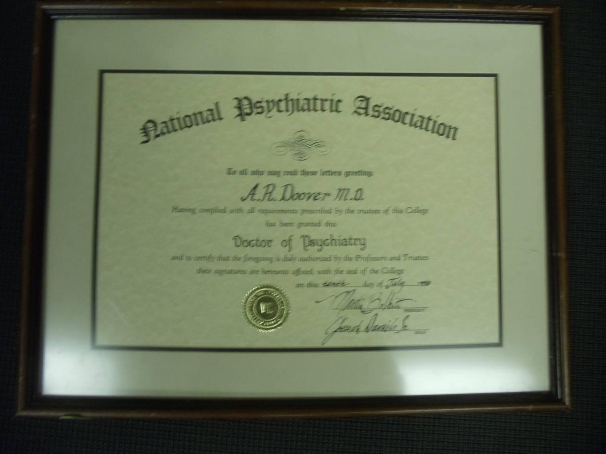 certificate frm brn psw wd blk plaque