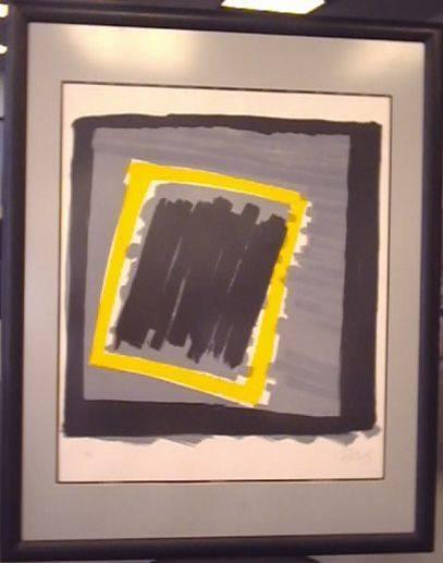 2722529f0345 Graphic  Abstract-Yel Black Grey-Ng Glass