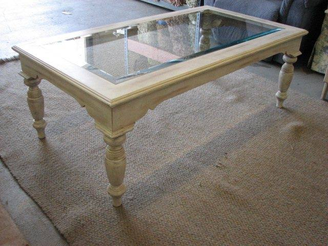 Coffee Table Off White Cottage Country