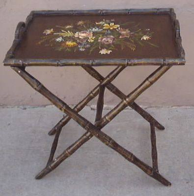 Butler Tray Table: Two Piece