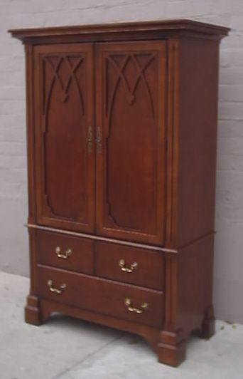 Armoire cherry wood two doors psw