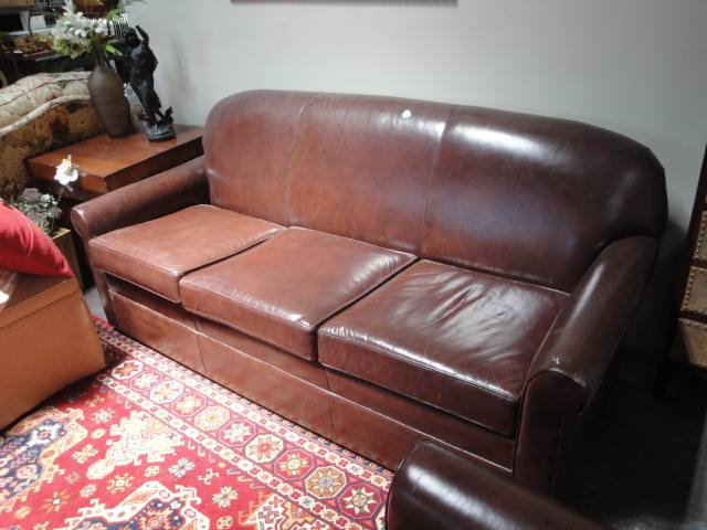 Peachy Sofa Brown Leather Tight Back Three Spiritservingveterans Wood Chair Design Ideas Spiritservingveteransorg