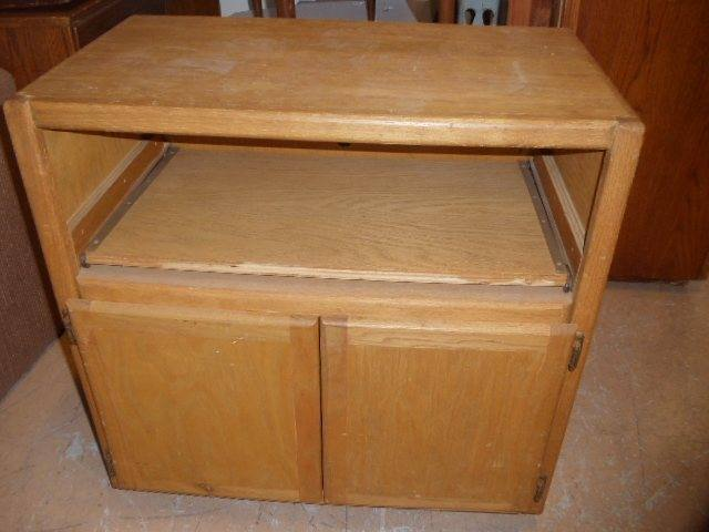 Tv Cabinet Console Slide Out Shelf