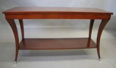 Console Table: Medium Cherry Wood U2026